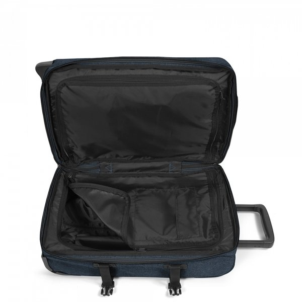 Eastpak Tranverz S triple denim Handbagage koffer Trolley van Polyester