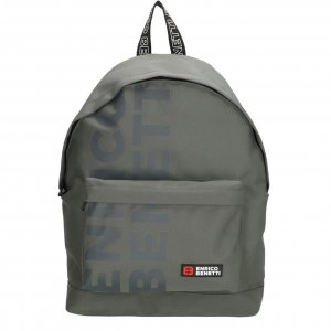 Enrico Benetti Amsterdam City Rugtas 14'' grijs backpack