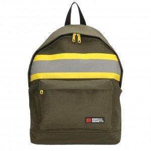 Enrico Benetti Amsterdam City Rugtas 14'' olijf2 backpack