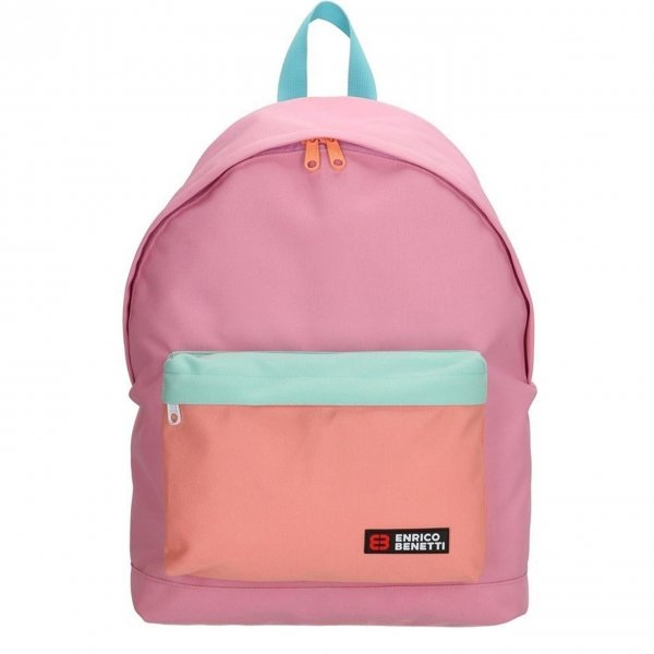 Enrico Benetti Amsterdam City Rugtas 14'' roze backpack