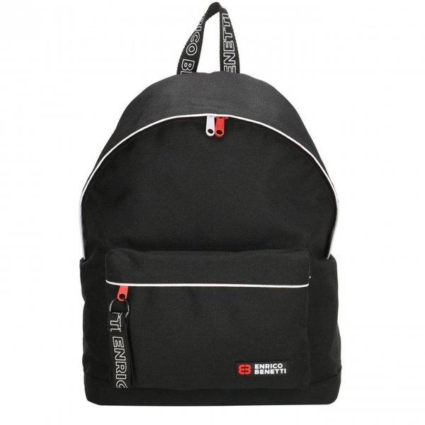 Enrico Benetti Amsterdam City Rugtas 14'' zwart backpack