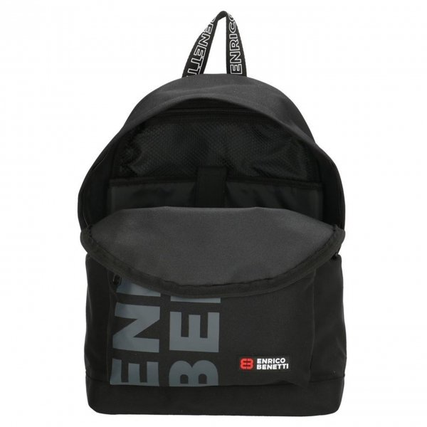Enrico Benetti Amsterdam City Rugtas 14'' zwart2 backpack van Polyester