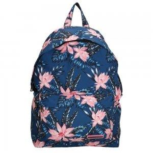 """Enrico Benetti Andorra 14"""" Rugzak navy flower backpack"""