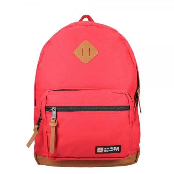 "Enrico Benetti Brasilia Laptop Rugzak 15.6"" red backpack"