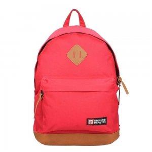 "Enrico Benetti Brasilia Rugzak 14"" red backpack"