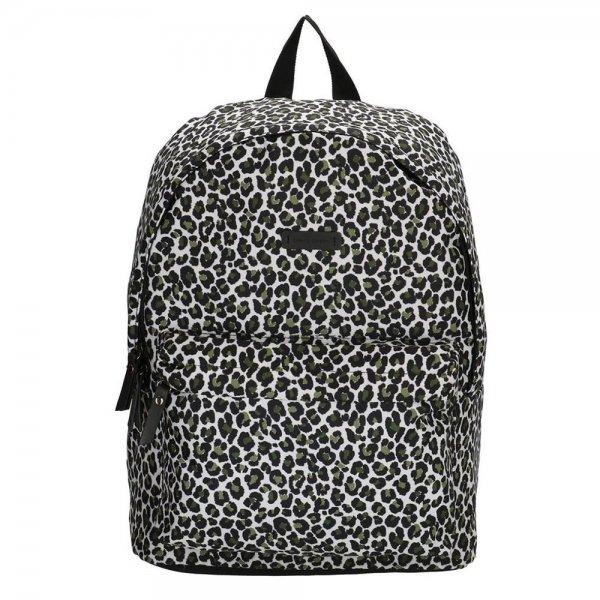 Enrico Benetti Bunbury Rugzak olive panther backpack