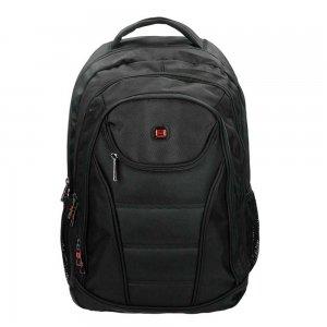 """Enrico Benetti Cornell Laptop Rugzak 17"""" black backpack"""