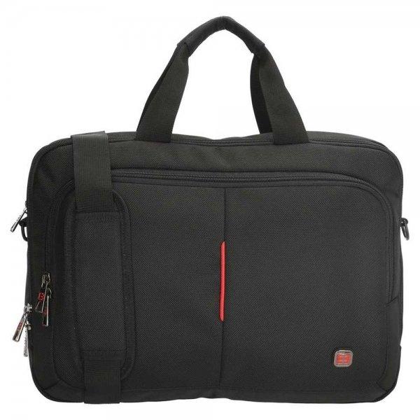 Enrico Benetti Cornell Laptoptas 14'' black van Nylon