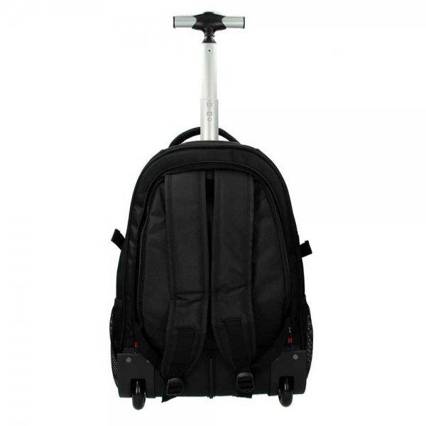 Enrico Benetti Cornell Trolleyrugzak black backpack van Polyester