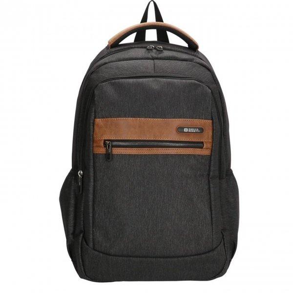 Enrico Benetti Dublin Rugtas 15'' grijs backpack
