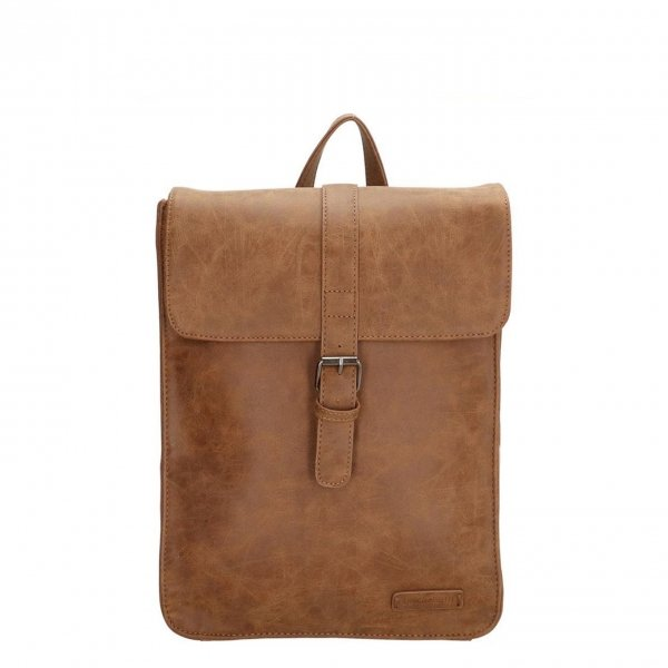 Enrico Benetti Kate Rugtas camel backpack