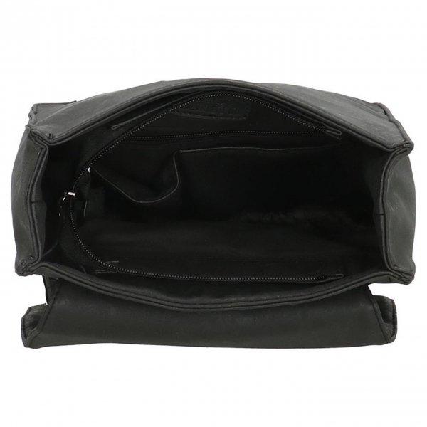 Enrico Benetti Kate Rugtas zwart backpack van Imitatie leer