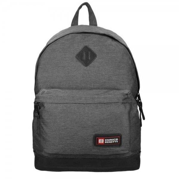 Enrico Benetti Montevideo iPad Rugzak grey backpack