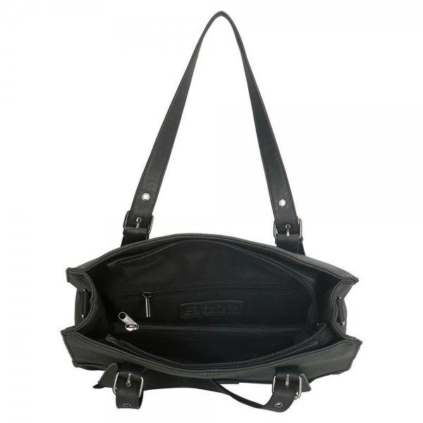 Enrico Benetti Nouméa Dames Shopper zwart Damestas van Imitatie leer