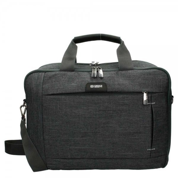 Enrico Benetti Sydney 15.6'' Laptoptas grey van Polyester