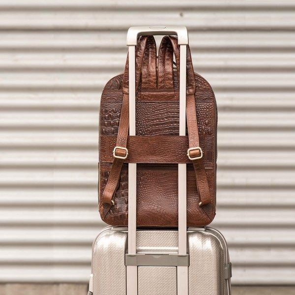 FMME. Claire 13.3 Backpack Grain black backpack van Leer