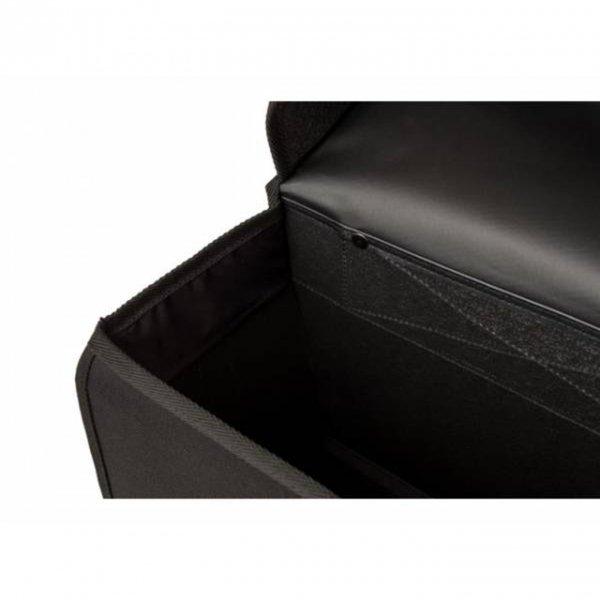 Fastrider Hybrid Dubbele Fietstas zwart van Polyester