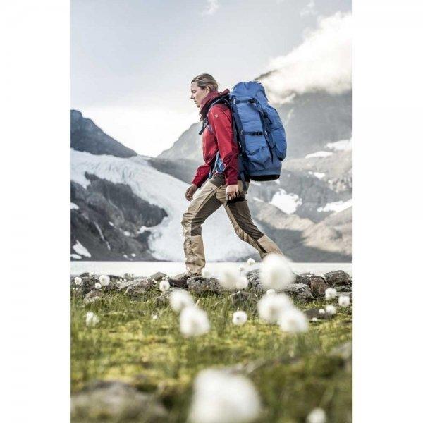 Fjallraven Abisko 55W stone grey backpack