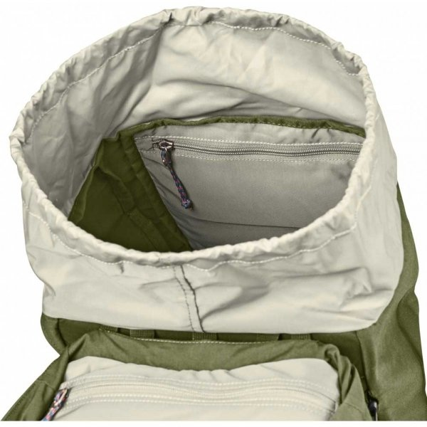 Fjallraven Abisko Hike 35 green backpack van Polyester