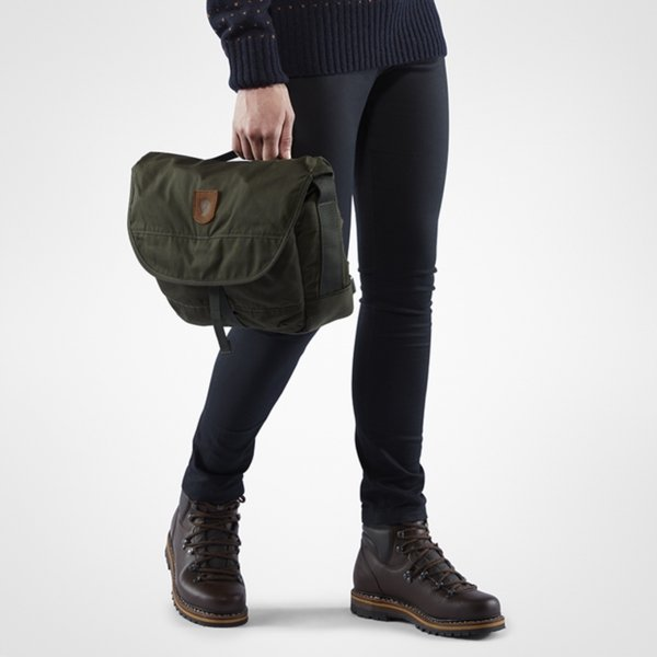Fjallraven Greenland Shoulder Bag Small black van Polyester