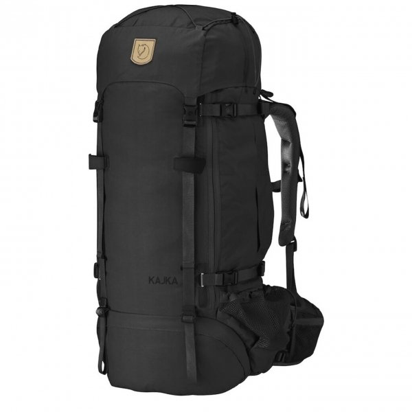 Fjallraven Kajka 65 black backpack