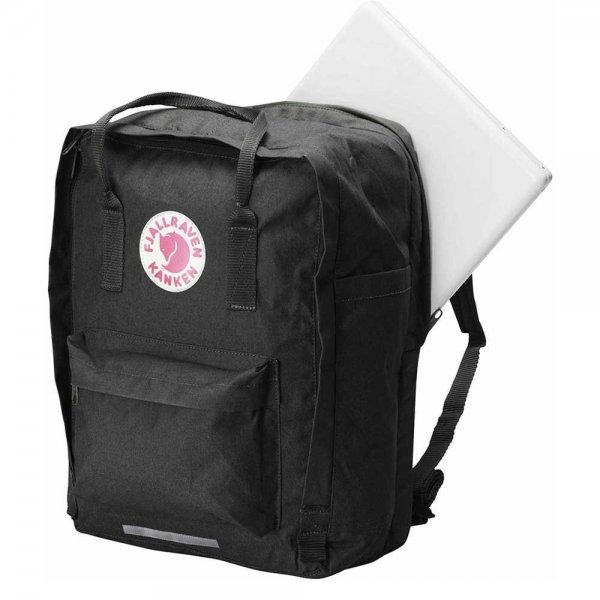"Fjallraven Kanken Laptop 17"" Rugzak black backpack van Vinylon"