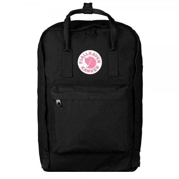 """Fjallraven Kanken Laptop 17"""" Rugzak black backpack"""