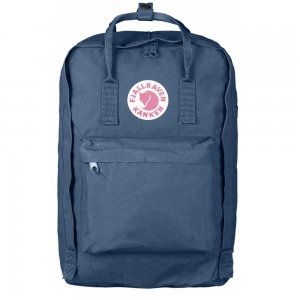 "Fjallraven Kanken Laptop 17"" Rugzak blue ridge backpack"