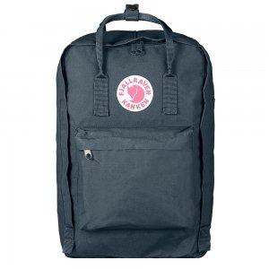 "Fjallraven Kanken Laptop 17"" Rugzak graphite backpack"