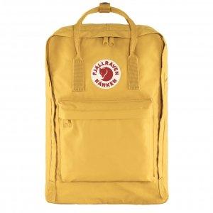 """Fjallraven Kanken Laptop 17"""" Rugzak ochre backpack"""