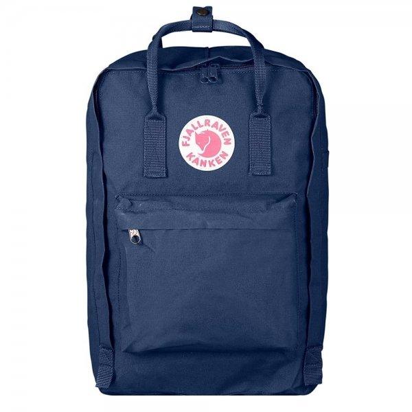 """Fjallraven Kanken Laptop 17"""" Rugzak royal blue backpack"""