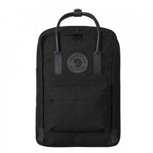"""Fjallraven Kanken No. 2 Laptop 15"""" Black Rugzak black backpack"""
