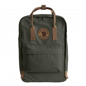 """Fjallraven Kanken No. 2 Laptop 15"""" Rugzak deep forest backpack"""