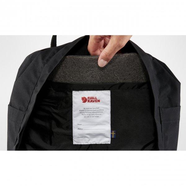 Fjallraven Kanken Rugzak black ox red backpack