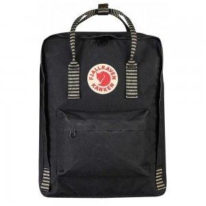 Fjallraven Kanken Rugzak black / striped backpack