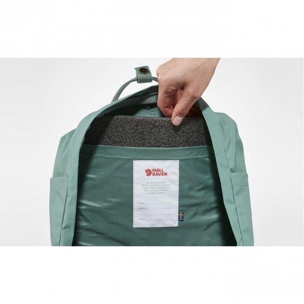Fjallraven Kanken Rugzak mint green/cool white backpack van Vinylon