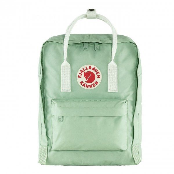 Fjallraven Kanken Rugzak mint green/cool white backpack