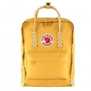 Fjallraven Kanken Rugzak ochre/chess patern backpack