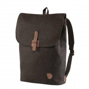 Fjallraven Norrvage Foldsack brown backpack