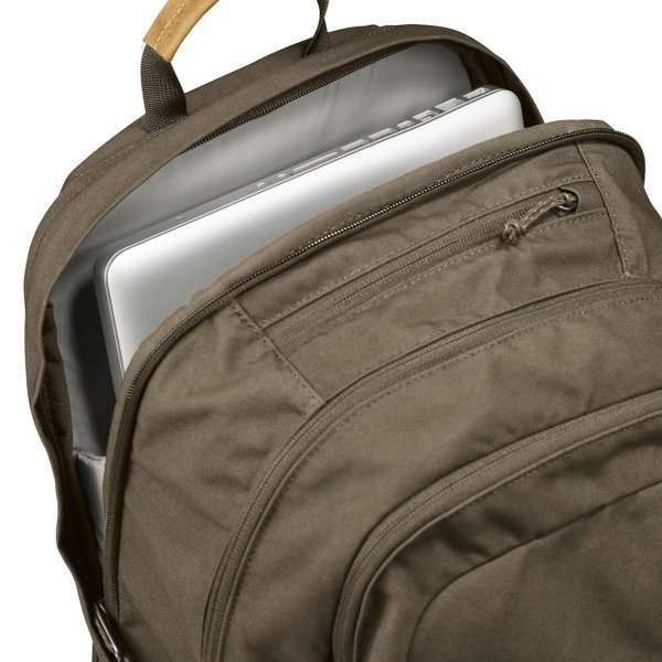 Fjallraven Raven 28 black backpack van Polyester