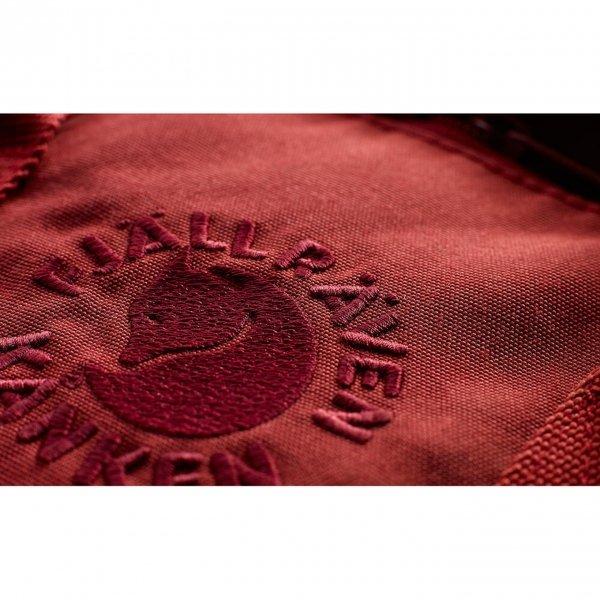 Fjallraven Re-Kanken Rugzak ox red van Polyester