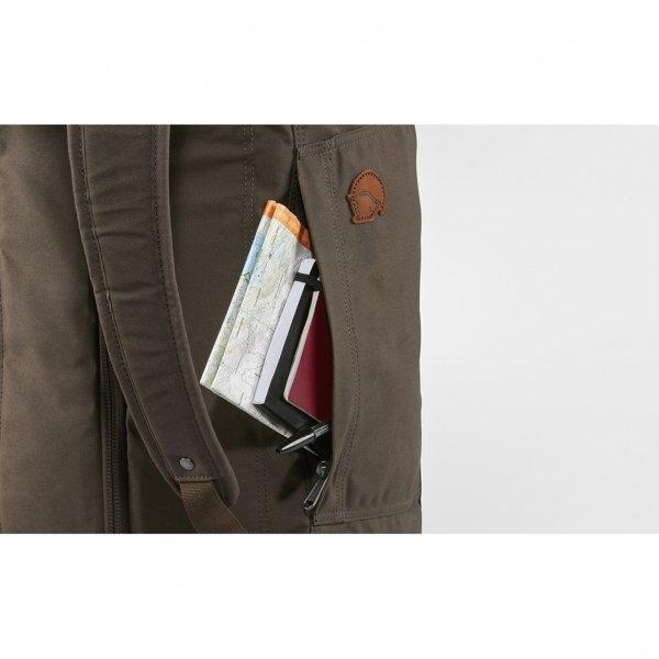 Fjallraven Splitpack Backpack / Duffel black Weekendtas