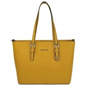 Flora & Co Bags Shopper geel Damestas
