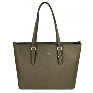 Flora & Co Bags Shopper khaki groen Damestas