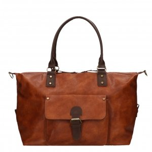 Flora & Co Bags Weekendtas camel Weekendtas