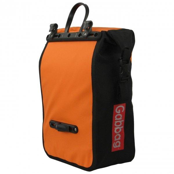 Gabbag Waterdichte Fietstas 25L oranje van Nylon