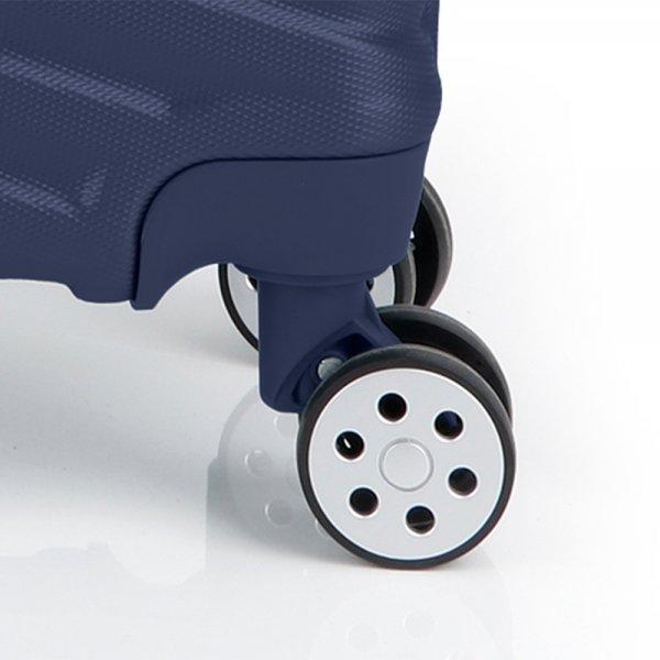 Gabol Atlanta Cabin Trolley 55 blue Harde Koffer van ABS