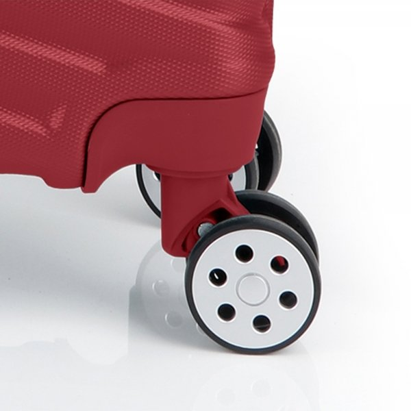 Gabol Atlanta Cabin Trolley 55 red Harde Koffer van ABS