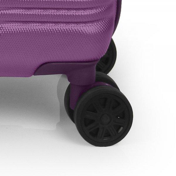 Gabol Balance Cabin Trolley 55 plum Harde Koffer van ABS