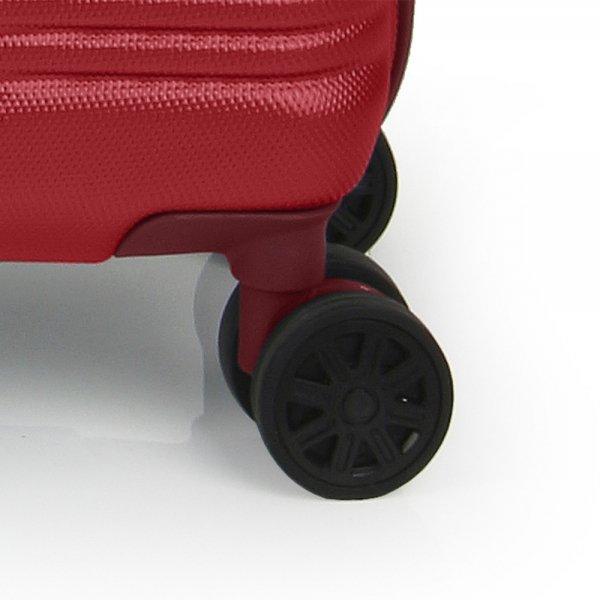 Gabol Balance Cabin Trolley 55 red Harde Koffer van ABS